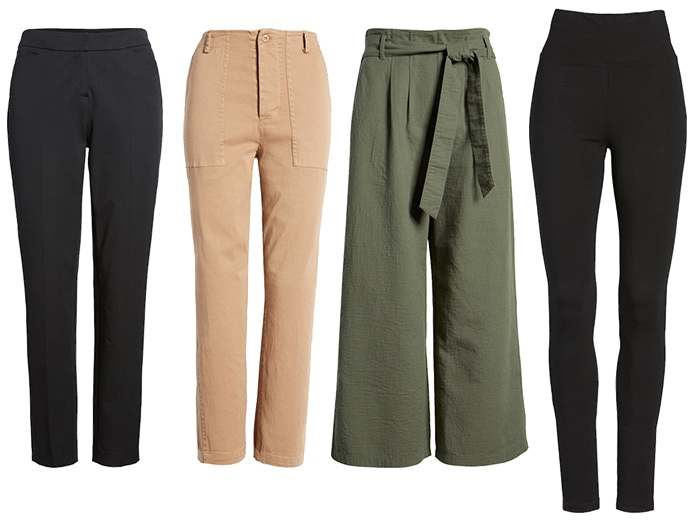 Basic clothing -  pants | 40plusstyle.com