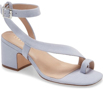 BCBGeneration block heel sandal | 40plusstyle.com