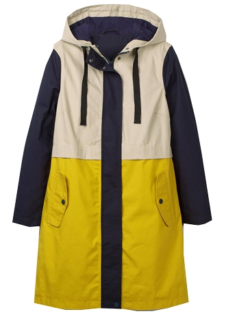 best raincoats for women - Boden waterproof raincoat | 40plusstyle.com