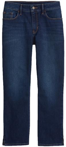 Gloria Vanderbilt capri jeans | 40plusstyle.com