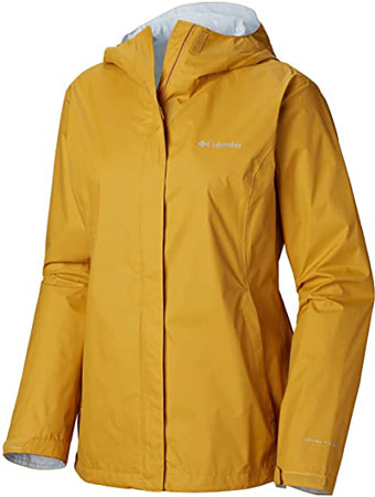 Columbia waterproof jacket | 40plusstyle.com