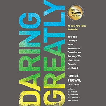 Daring Greatly (Audible, Amazon) | 40plusstyle.com