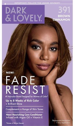 Color by Dark and Lovely Fade Resist | 40plusstyle.com