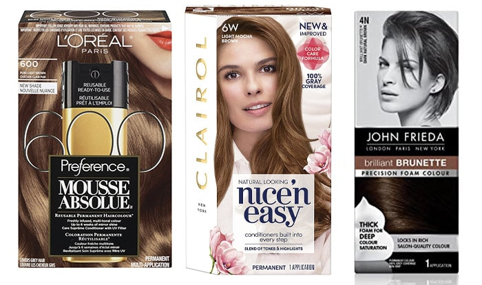 DIY color kits to dye hair roots | 40plusstyle.com