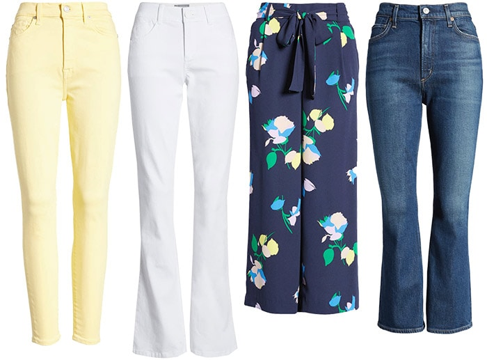 jeans and pants to wear for Easter | 40plusstyle.com