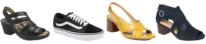 sneakers, shoes and booties to wear this Easter | 40plusstyle.com