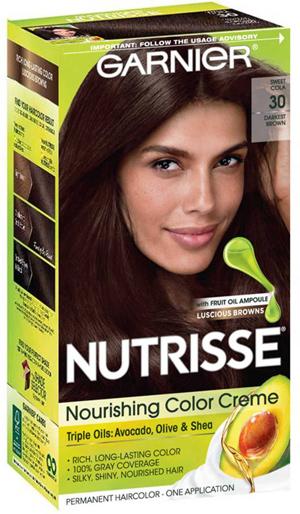 Garnier Nutrisse Nourishing Hair Color Creme   40plusstyle.com