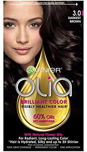 Garnier Olia Ammonia Free Permanent Hair Color   40plusstyle.com