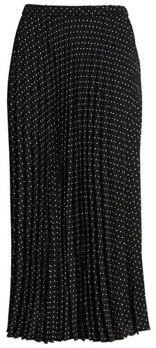 Polka dot elastic waist skirt by Halogen   40plusstyle.com