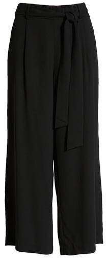wardrobe essentials - Halogen wide leg crop pants | 40plusstyle.com
