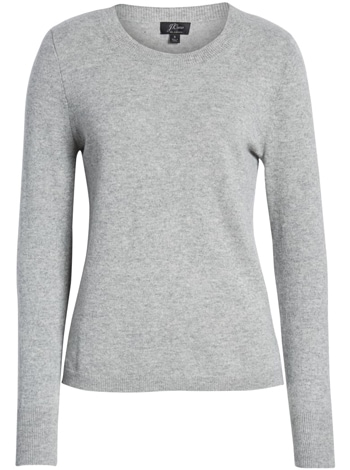 Wardrobe essentials - J.Crew cashmere sweater | 40plusstyle.com