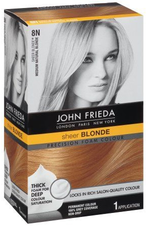 John Frieda Precision Foam Permanent Hair Colour | 40plusstyle.com