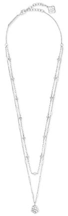 Kendra Scott multistrand necklace | 40plusstyle.com