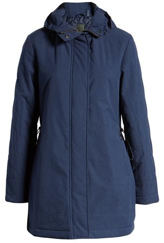 Kristen Blake insulated rain jacket | 40plusstyle.com