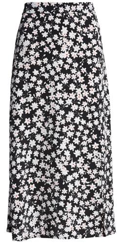 Floral elastic waist skirt from Leith   40plusstyle.com