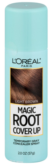 Dye hair roots - L'Oreal Paris Hair Color Root Cover Up | 40plusstyle.com