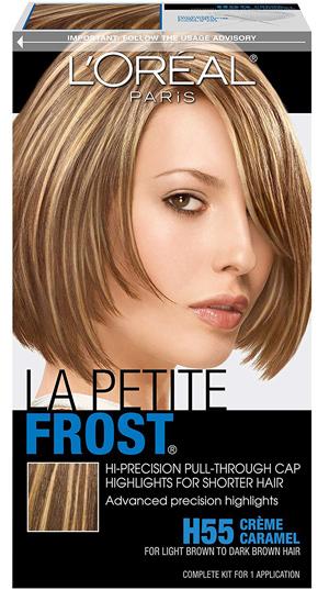 L'Oreal Paris Le Petite Frost Pull-Through Cap Highlights | 40plusstyle.com
