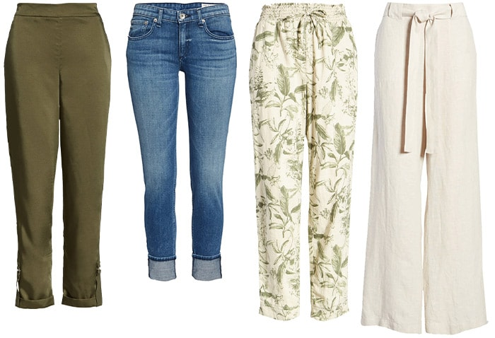 Natural style pants & jeans | 40plusstyle.com