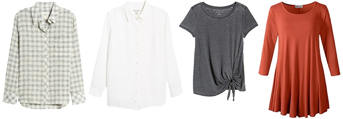 Natural style tops | 40plusstyle.com