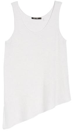 wardrobe essentials - Nic+Zoe asymmetrical hem tank top | 40plusstyle.com