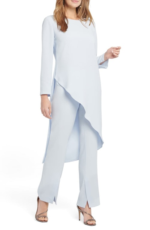 asymmetric tops to hide your tummy - NIC+ZOE asymmetrical tunic | 40plusstyle.com