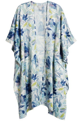 Nordstrom printed duster | 40plusstyle.com