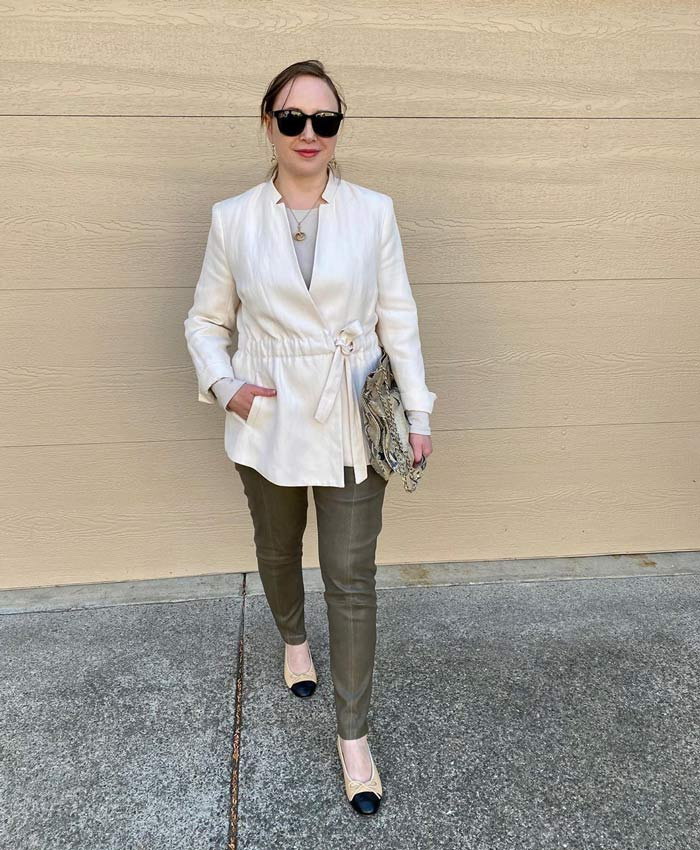 neutral shades for the natural style personality | 40plusstyle.com