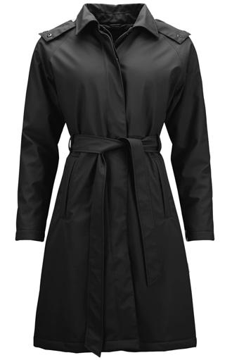 Rains waterproof trench coat | 40plusstyle.com