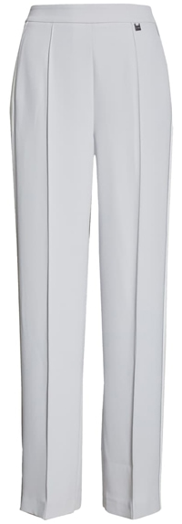 white smart pants with an elastic waist from Ted Baker   40plusstyle.com