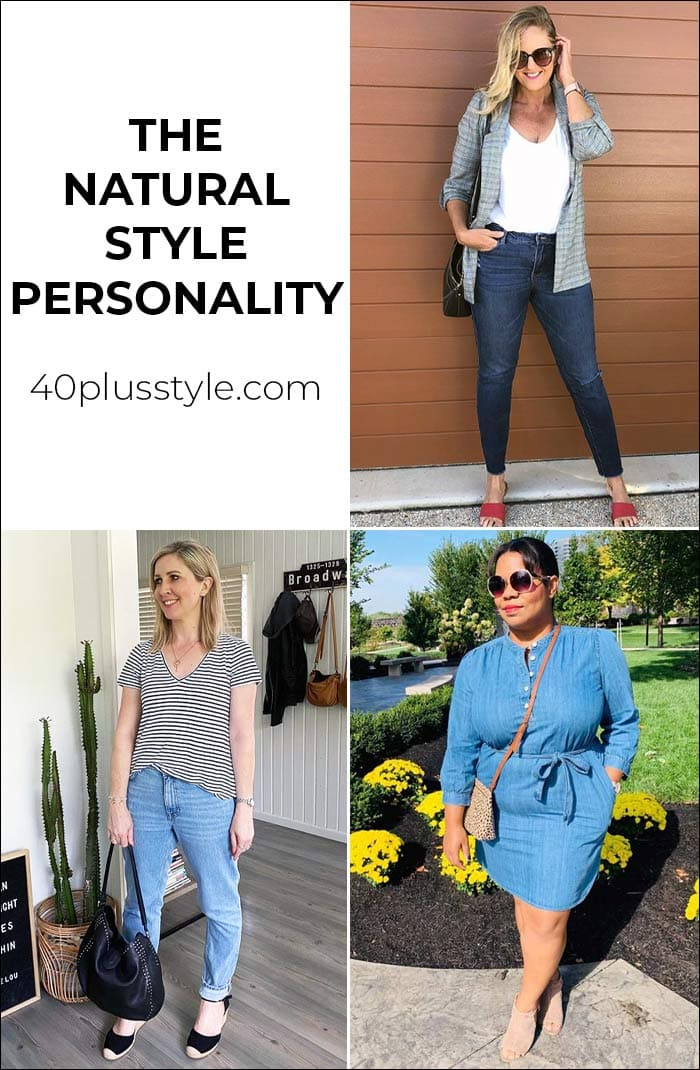 The natural style personality | 40plusstyle.com