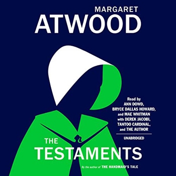 The Testaments by Margaret Atwood (Audible, Amazon) | 40plusstyle.com
