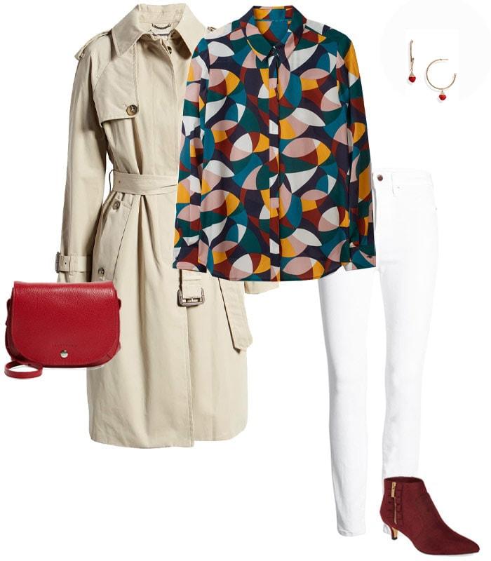 Long coat outfit ideas | 40plusstyle.com