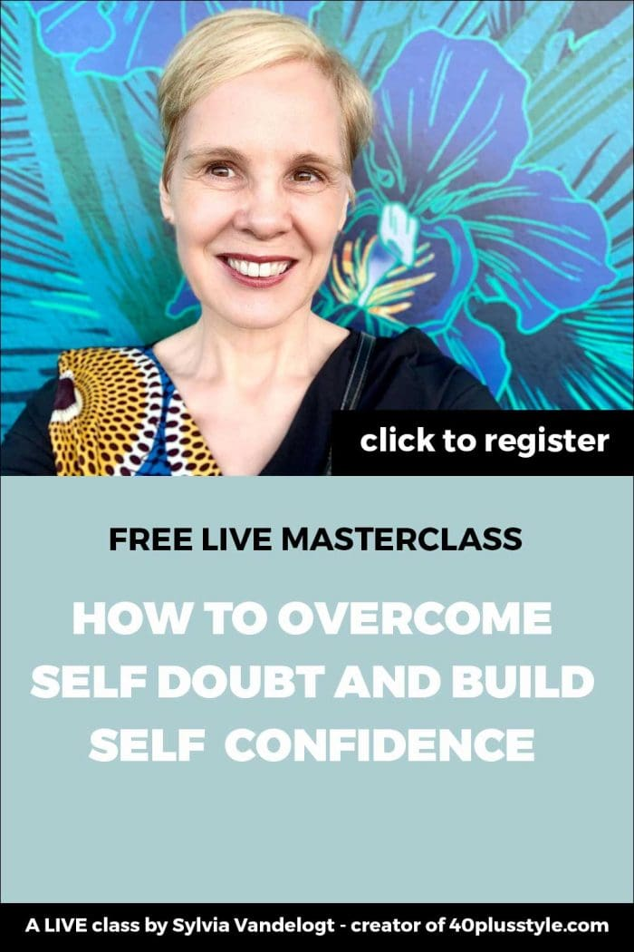 Free masterclass: how to overcome self doubt and build self confidence