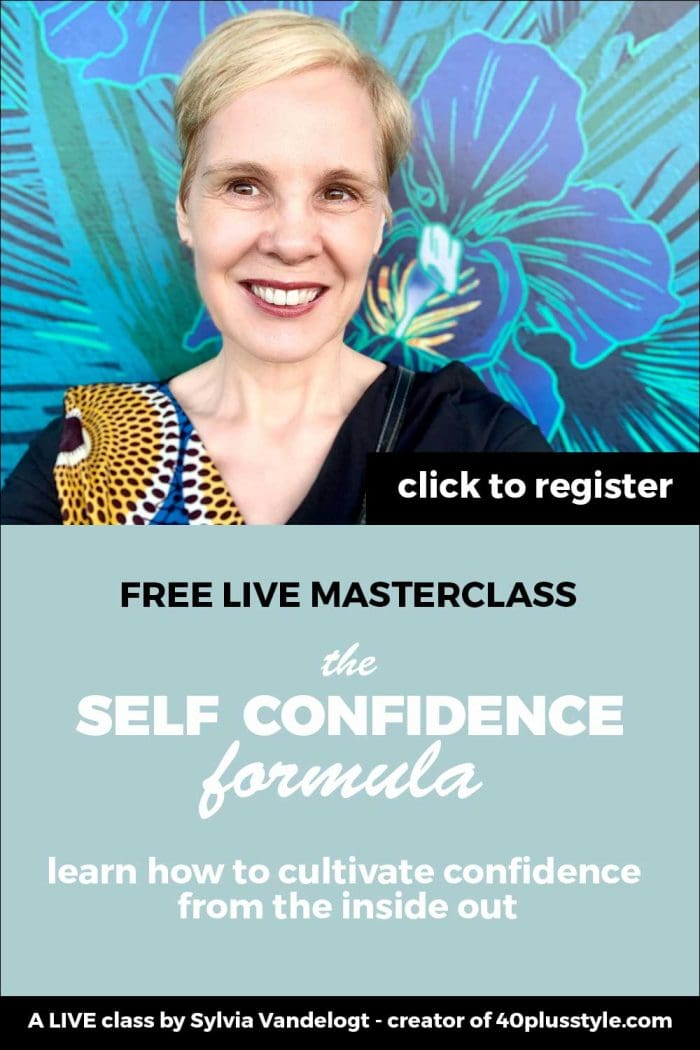FREE LIVE masterclass: the Self Confidence Formula - Learn how to cultivate confidence from the inside out