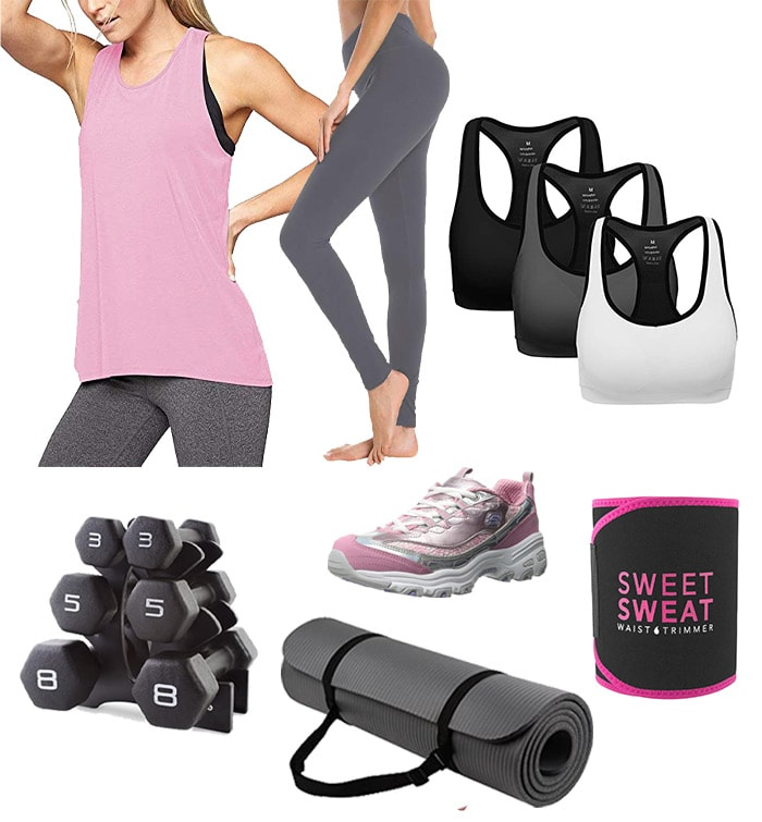 Amazon workout outfits | 40plusstyle.com
