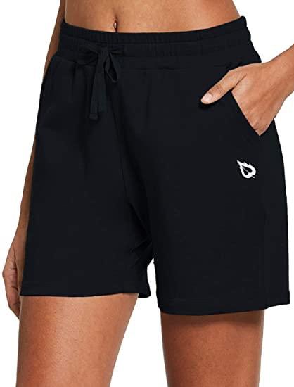 BALEAF activewear shorts | 40plusstyle.com