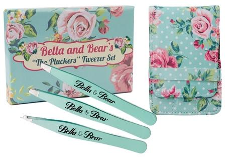 "Bella And Bear ""The Pluckers"" Tweezer Set | 40plusstyle.com"