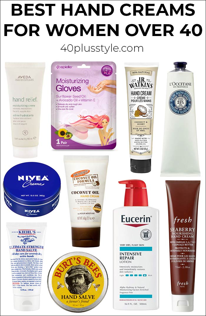Best hand creams for women over 40 for super soft hands | 40plusstyle.com