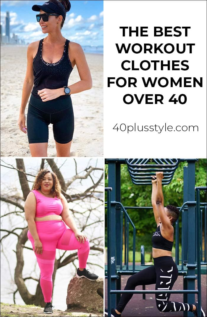 he best workout clothes for women: How to look stylish while keeping fit and healthy | 40plusstyle.com