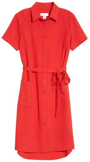 Rachel Parcell shirtdress | 40plusstyle.com