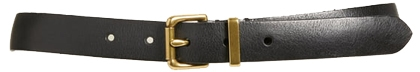 belts to dress when you are short - Frye leather belt | 40plusstyle.com