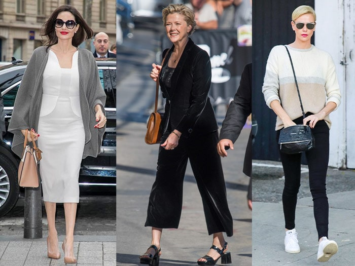 celebrities with a minimal style | 40plusstyle.com