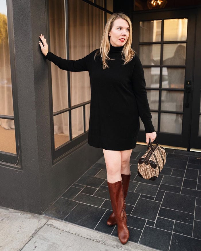 how to dress when you're petite - pay attention to boot length | 40plusstyle.com