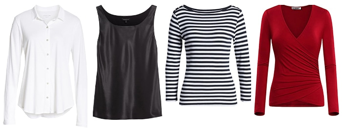 Tops with a classic look | 40plusstyle.com