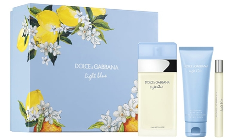 Dolce & Gabbana Light Blue Eau de Toilette Set | 40plusstyle.com