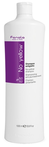 Fanola No Yellow Shampoo   40plusstyle.com
