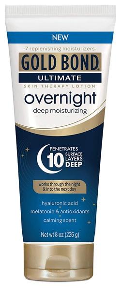 best handcream - Gold Bond Ultimate Overnight Deep Moisturizing Lotion | 40plusstyle.com
