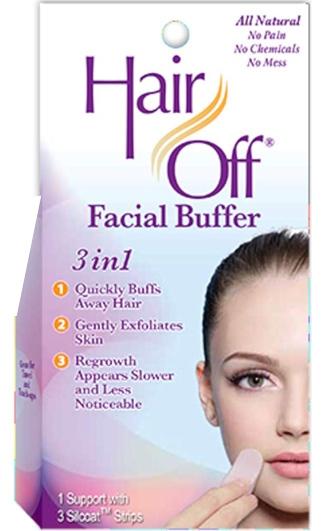 Hair Off Facial Buffer | 40plusstyle.com