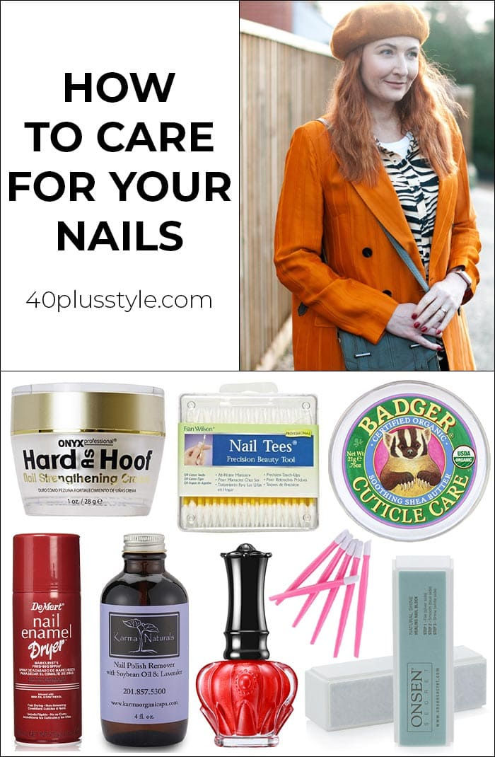 How to take care of your nails | 40plusstyle.com