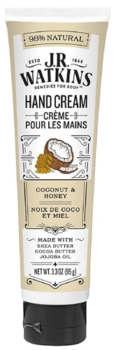 best handcream - J.R. Watkins Natural Moisturizing Hand Cream | 40plusstyle.com